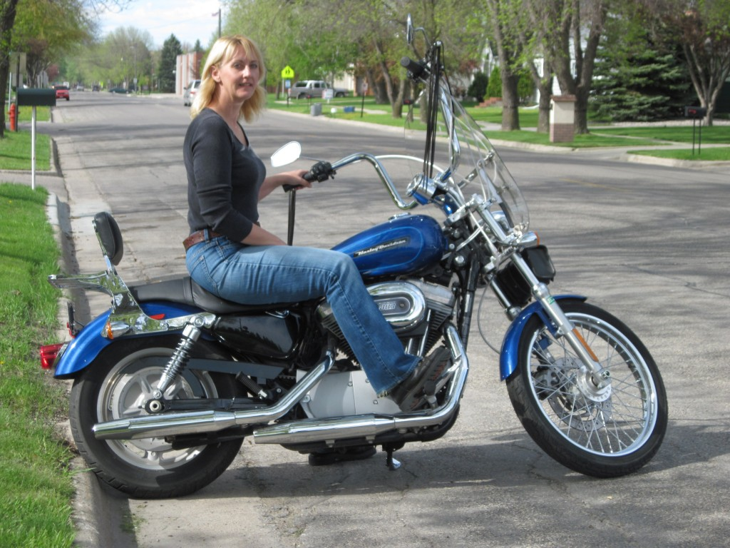 Pic of me sitting on the motorcycle